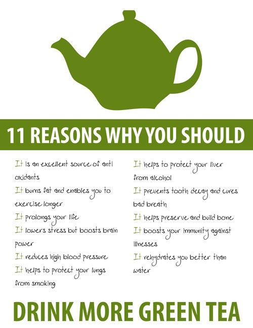 Green tea is Great!